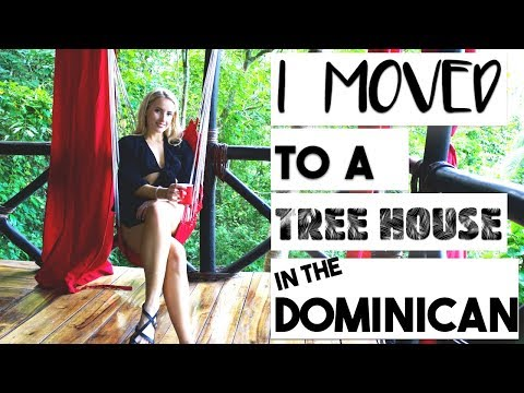 TRAVEL | I LIVED IN A TREE HOUSE IN THE JUNGLE FOR A WEEK!!