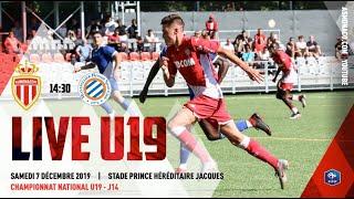 (U19) FULLMATCH : AS Monaco - Montpellier HSC