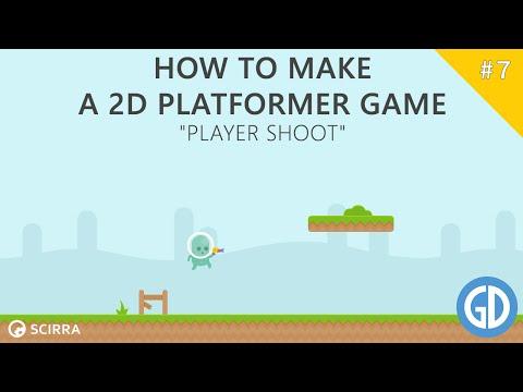 7. How To Make A 2D Platformer Game (Player Shoot) Construct 2 Tutorial