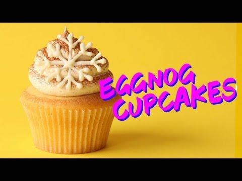 How to Make Eggnog Cupcakes | The Scran Line