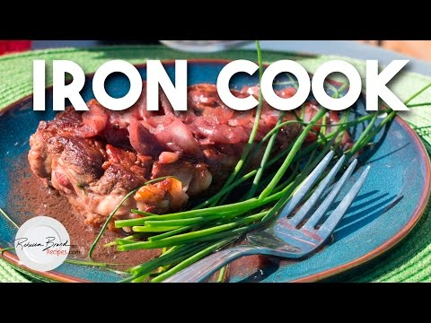 How to Make a Filet Mignon Steak with Wine Sauce   |  Iron Cook