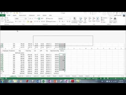 MS Excel 2013- Document properties