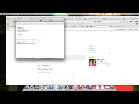 SEO Blogger Edits To Change Title & Meta Descriptions