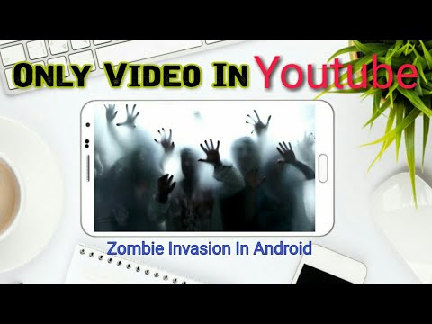 Zombie Invasion Live Wallpaper Now In Your Android Smartphone