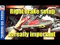 Is your Dirt Bike Rear Brake Pedal set up right for you, because it's important ! KTM250XC