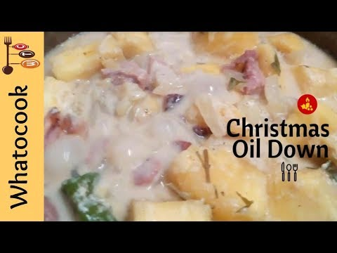 🎄Christmas Oil Down (Breadfruit Recipe)