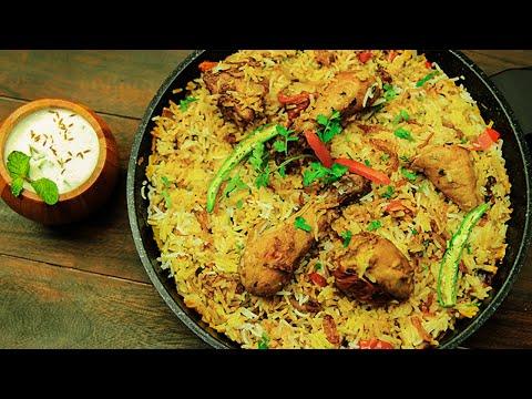 Chicken Biryani - Special Chicken (Murgh) Biryani Recipe - SooperChef