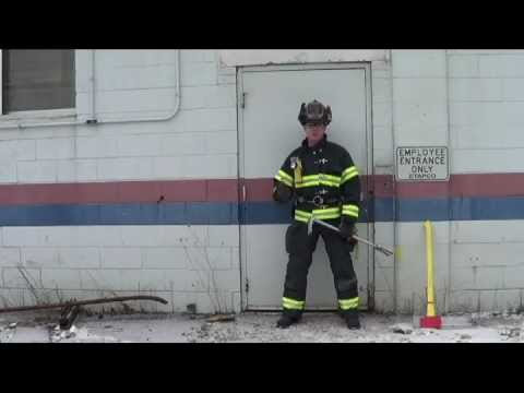 Firefighter Forcible Entry: Pulling Hinges from a Metal Door and Jamb