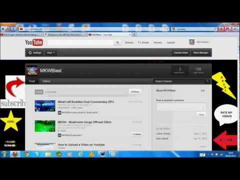 How to Customize Your Youtube Channel Part 2