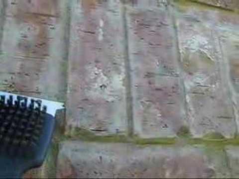 Cleaning New Brick on a Masonry Pit/Smoker