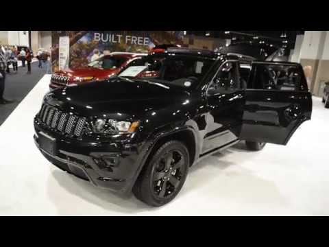 2014/2015 All Black Jeep Grand Cherokee Stealth Package
