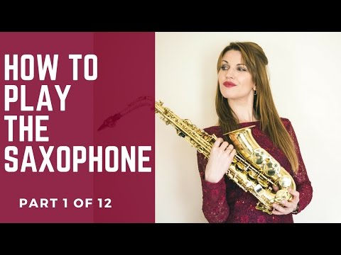 1/12 FINGERINGS. How to play saxophone - BEST BEGINNERS GUIDE 🎶 lesson/tutorial