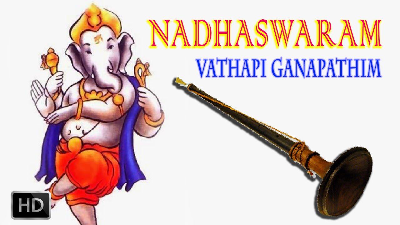 Vatapi Ganapathim - Nadhaswaram - Classical Instrumental - Jayashankar & Valayapatti Subramaniam