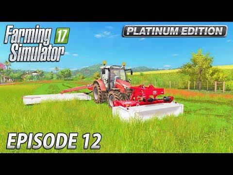 CANOLA HARVEST | Farming Simulator 17 Platinum Edition | Estancia Lapacho - Episode 12