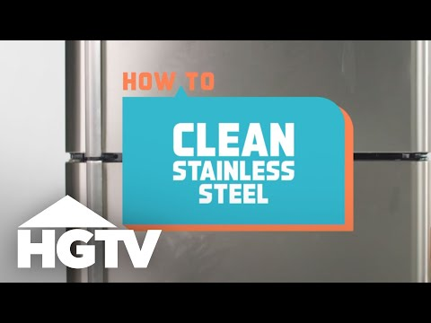 How to Clean Stainless Steel - How to House - HGTV
