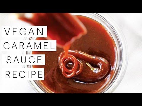 Vegan Recipe: Salted Caramel Sauce | The Edgy Veg