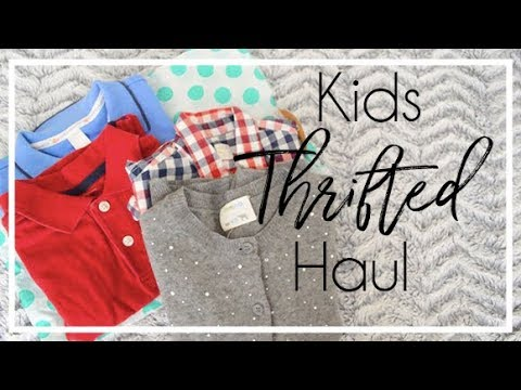 My Thredup Haul | Kids Clothing