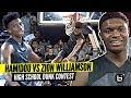 Hamidou Diallo Vs Zion Williamson INSANE High School Dunk Contest 2020 NBA Contest Preview