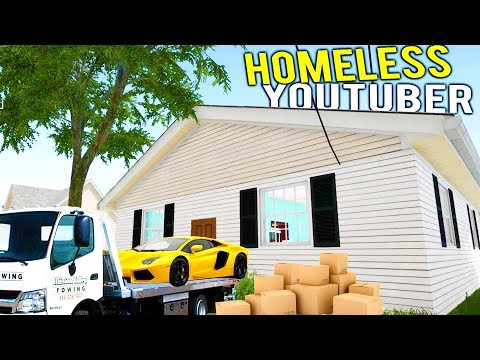 YOUTUBER BECOMES HOMELESS, HOUSE GETS FLIPPED AT AUCTION! - House Flipper Beta Gameplay