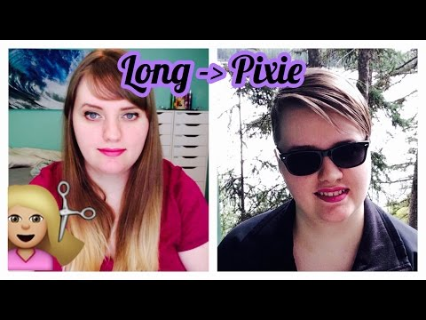 Hair Transformation!!! Long to Pixie