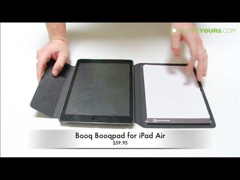 Best iPad Air Case with a Notepad - Booq Booqpad for iPad Air