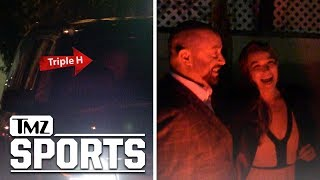 Ronda Rousey Dines with Triple H, Closer to WWE Deal?! | TMZ Sports