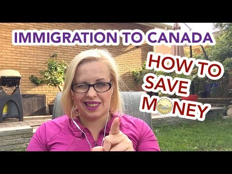 Immigration to Canada - How To Save Money On Everyday Expenses