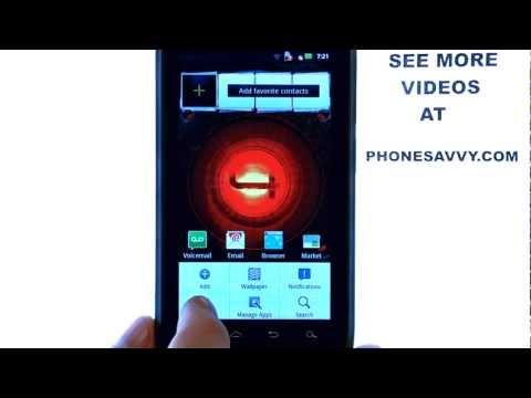 Motorola Droid 4:  How Do I Turn On The Mobile Hotspot?