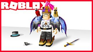Wearing ALL the Roblox catalog!