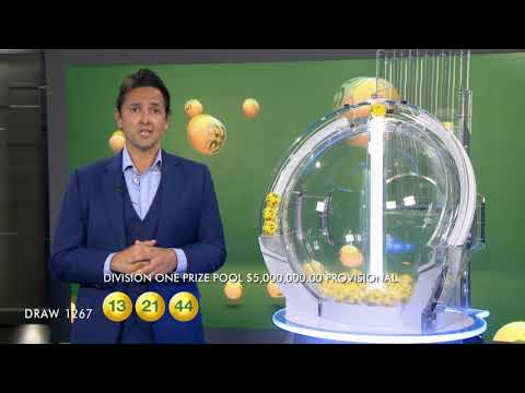 Oz Lotto Draw Results 1267 29/05/2018 - the Lott