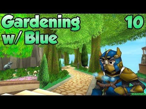 Wizard101: Gardening w/ Blue Episode 10