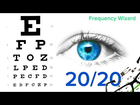 Improve Your Eyesight Naturally - 20/20 Vision Subliminal Isochronic tones Binaural Beats Meditation
