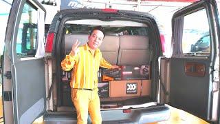เสียงใยแก้วพบกับลำโพงเทพรุ่นล่าสุดแห่งปี2020 MOREL ELATE TITANIUM Chevy Van =Tony Dr.Sound0888624444