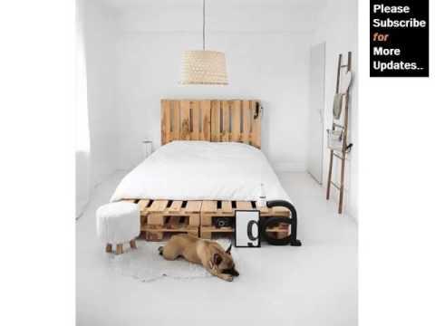 Diy Pics Of Pallet Furniture Collection   Pallets As Bed Platform