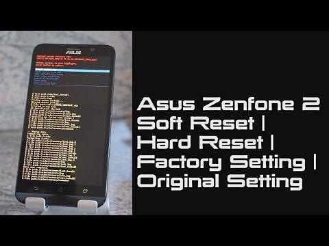 Asus Zenfone 2 Soft Reset | Hard Reset | Factory Setting | Original Setting