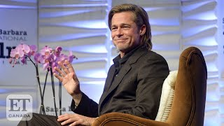Brad Pitt Jokes He's Too Old To Remember The First Rule Of 'Fight Club' | FULL SPEECH