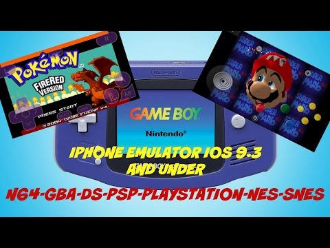 How to Get N64, GBA, PS1 EMULATOR on your iOS Device ! 9.3 & under NO JAILBREAK !!!!!!