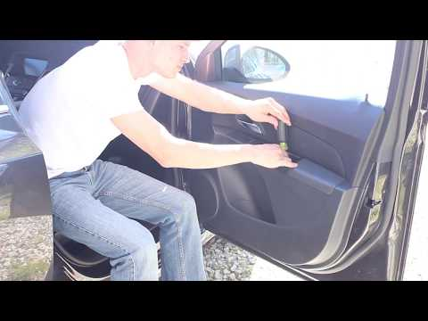 Chevy Cruze Front Door Speaker Install disassembly installation speakers