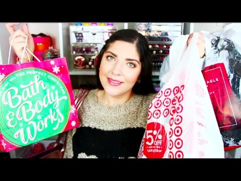 Black Friday Haul 2016 | Express, Target, Kohls, B&BW, American Eagle Etc