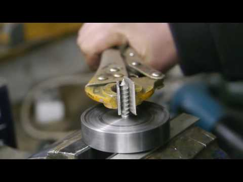 Making a screw chuck for my wood lathe