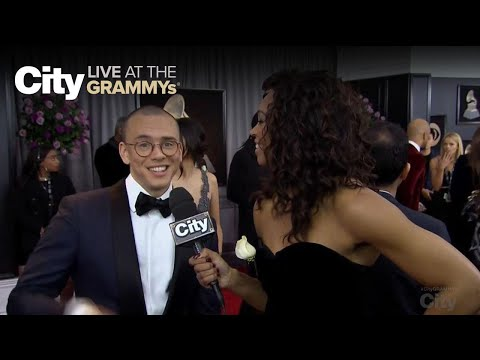 Logic has mad love for Alessia Cara | City LIVE at the GRAMMYs