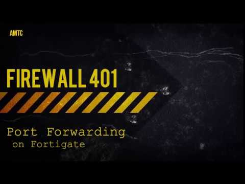 Configure Port Forwarding on Fortigate