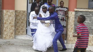MOST DRAMATIC WEDDING EVER AIRED ON KENYA TV.