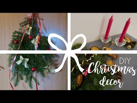 DIY Christmas Garland + Table Decoration | Sonia Nicolson