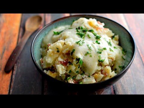Vegan Garlic Mashed Potatoes & Gravy - Fat Free (GF)