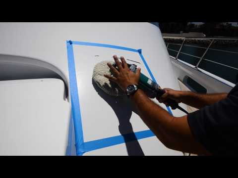 How to Buff and Wax Yacht Paint Medium Oxidation