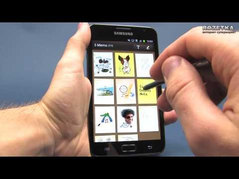 Смартфон-планшет Samsung Galaxy Note N7000