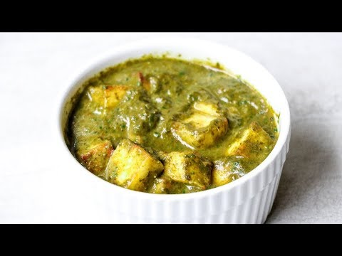 Palak Paneer in Instant Pot || Spinach with Paneer curry || Saag paneer