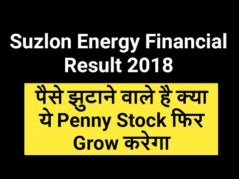 Suzlon Energy Financial Result 2018 - Raising Funds & Will This Penny Stock Grow Again?