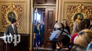 How Democrats caved on the shutdown standoff